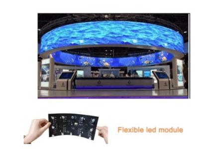 FLEXIBLE LED SCREENS